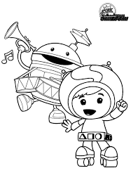 Small Picture Geo and Bot from Team Umizoomi Coloring Page Color Luna
