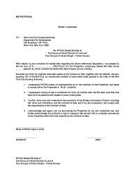 2018 Bid Proposal Template - Fillable, Printable Pdf & Forms | Handypdf