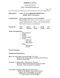 Welding Resume Examples Compliance Resume It Resume Format