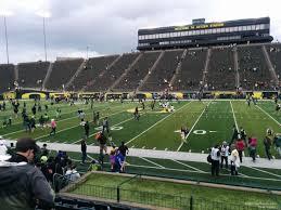 Autzen Stadium Section 30 Rateyourseats Com