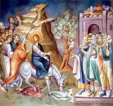 Resultado de imagen para mensaje ortodoxo de domingo de ramos