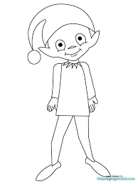 Elf On The Shelf Coloring Pages 2019 Wallpaper Art Hd