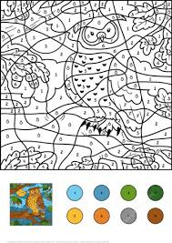 color by number free. Exellent Free Click To See Printable Version Of Owl Color By Number Coloring Page On By Free H