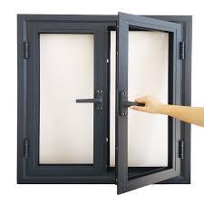 Casement Window Designs In Nigeria High Quality Double Leaf Design Aluminum Frame Glass