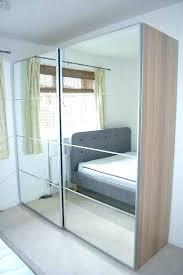 ikea mirror door mirror closet doors mirrored sliding closet doors wardrobes wardrobe white oak effect mirror