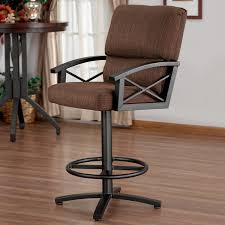 captivating bar stool with arms and back counter height chairs with arms black swivel bar stool