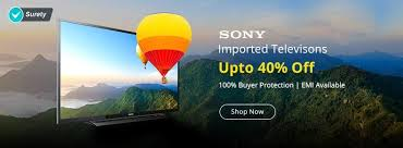 sony tv offers. shopclues tv offers :get upto 40% off on imported televisions online for samsungtv, · sonyimportedtvs_w_nitin_oldclp2 sony e
