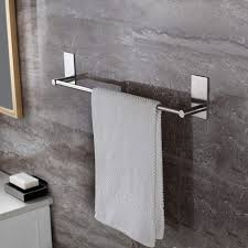 self adhesive 16 inch bathroom towel