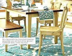 pier 1 glass table top dining one room 48 round imports solid