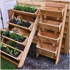 garden shelf. cute containers for your urban garden shelf