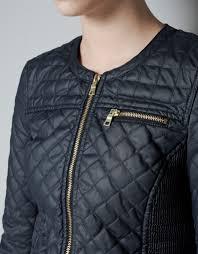 Daily Covet: Zara Quilted Jacket | little black sweats & Advertisements Adamdwight.com