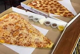 whole cheese pizza sliced. Fine Sliced The Pizza Barn Super Slice For Whole Cheese Pizza Sliced I
