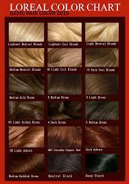 Loreal Hair Dye Color Chart Loreal Hair Color Chart 2016