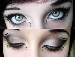 gothic makeup tutorial gothic fairy makeup gothic eye liner goth best free home design idea inspiration