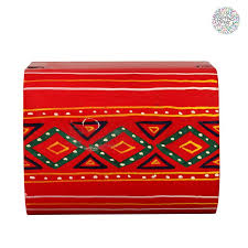 gifting nest handpainted wooden box red best s in india rediff ping
