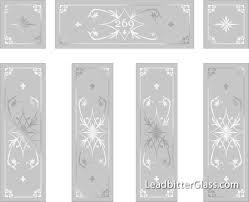 loudon sandblasted glass door entryway dorset