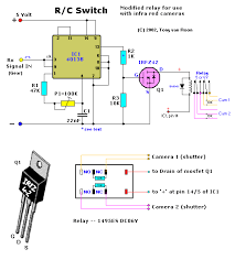 r c switch for blimp infrared cameras circuit wiring diagrams r c switch blimp cameras