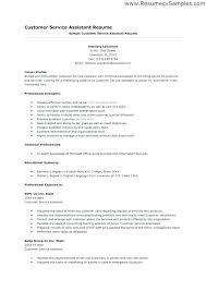 Customer Service Skills Resume Samples Resume Letter Directory