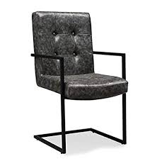 modern industrial style furniture. Tov Furniture The Stanley Collection Modern Industrial Style EcoLeather Upholstered Steel Dining Arm Chair Inside