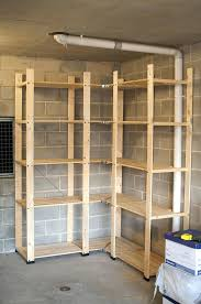 diy garage shelving units sy shelf plans