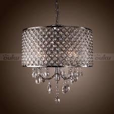 modern drum chandelier crystal ceiling light pendant lamp lighting throughout chandelier crystal lamp