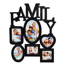 Family collage picture frames family collage picture frames bewildering on  home furnishing plus multi photoframe family