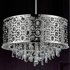 kitchen alluring circular crystal chandelier 27 0001591 23 forme modern laser cut drum shade round pendant