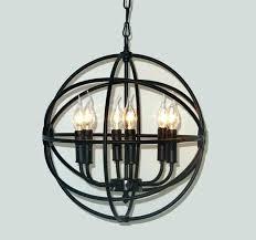 wrought iron orb chandelier wood globe chandelier sphere chandelier medium size of wrought iron orb chandelier
