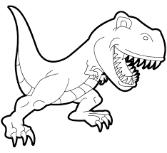 Perfect for use at home or in your classroom. Dinosaurs Free To Color For Kids Tyrannosaur Rex Cartoon Dinosaurs Kids Coloring Pages