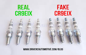 How To Spot Fake Ngk Cr9eix 3521 Iridium Ix Spark Plugs