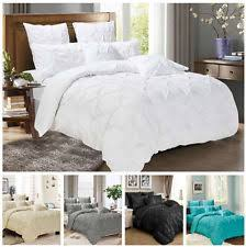 King Size Quilt Covers | eBay & Pinch Pleat Duvet/Doona/Quilt Cover Set Double/Queen/King/Super King Size  Bed Adamdwight.com