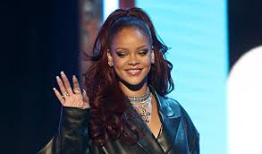 Rihanna Dons Leather Outfit For Bet Awards 2019