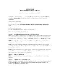 Contract Forms For Construction General Contractor Hourly Rate Free Construction Contract Forms