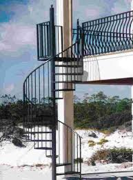 exterior metal staircase prices. #spi0101 - custom aluminum spiral staircase with bronze powder-coat finish exterior metal prices l