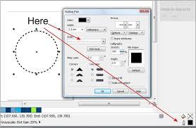 Open the stroke palette using the same menu options. Dash Circle Coreldraw Graphics Suite X7 Coreldraw Graphics Suite X7 Coreldraw Community