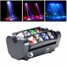 Used Moving Head Stage Lights 80w Spider Beam Moving Head Stage Light Rgbw 4 In 1 Dmx512