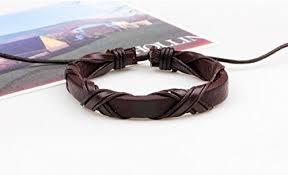 Adjustable Tribal <b>Braided</b> Cuff Bangle Creative Multiple Layer Hand ...