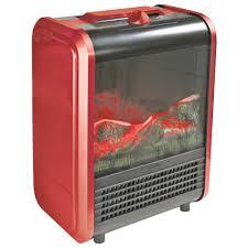 comfort zone mini electric fireplace