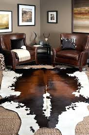 ikea hide rug cow skin rug with jute i have this cowhide bought from 3 ikea