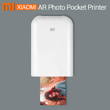 <b>Xiaomi mijia AR</b> מדפסת 300dpi נייד תמונה מיני כיס עם נתח DIY 500mAh ...