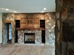 natural stone gas fireplace stone veneer interior design custom design of interior wall stone