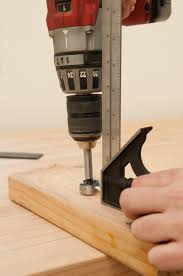 how to build a jig for drilling bench dog holes