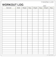 Gym Workout Sheet | Simpletext.co