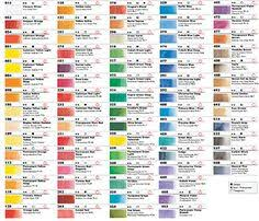 34 Best Colour Charts Images In 2019 Paint Color Chart