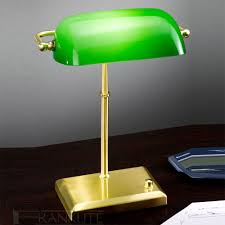 decoration green glass shade white desk lamp pink desk lamp bankers lamp antique bankers