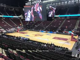 Reed Arena Seating Chart Reed Arena Section 103 Rateyourseats Com