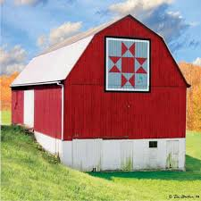 312 best Barn quilts images on Pinterest | Res life, Quilt ... & Ohio Star quilt pattern on a barn in Monroe County Ohio. Adamdwight.com