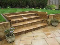 Small Picture Sleeper retaining walls and raised beds Shropshire