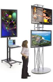 Flat Screen Display Stand TV Display Racks Single Multiple Monitor Configurations 30