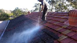 painting terracotta roof tiles step 1 cleaning able roof restoration